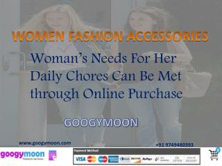 Buy Women Fashion Accessories Online - Googymoon