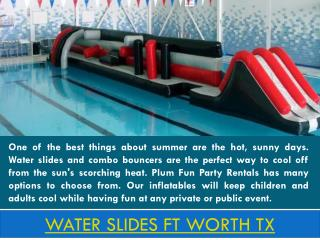 water slides Keller TX