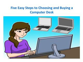 Easy Steps to Get the Best Computer Desks