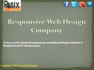 Responsive web design and website Development Company in Ahmedabad