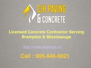 Driveway Paving & Concrete Contractors Brampton & Mississauga
