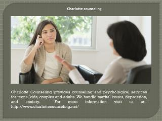Charlotte counseling