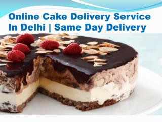 Same Day Cake Delivery In Delhi