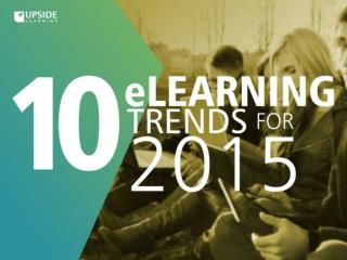eLearning Trends For 2015
