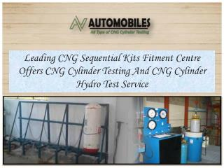CNG Sequential Kits Fitment Centre in Delhi