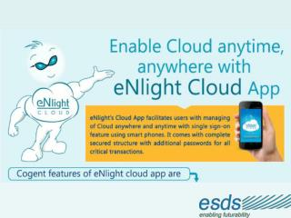 Manage Your Cloud From Mobile With eNlight Cloud App