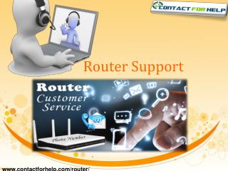 Find Online Router Customer Service