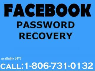 Unable To Do Facebook Reset Password  Call 1-806-731-0132 Toll-free