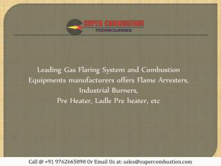 Gas Flaring System Manufacturers