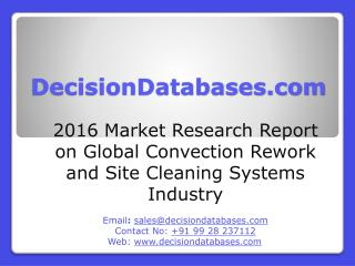 Global Convection Rework and Site Cleaning Systems Market Forecasts to 2021