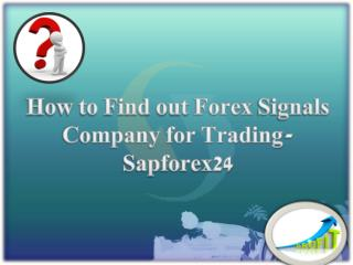 Find Out Forex Signals Company | Sapforex24 | Comex Live