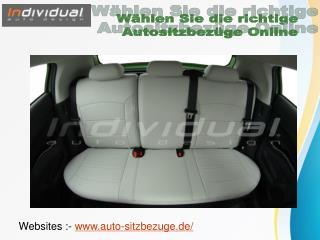 W�hlen Sie die richtige Autositzbez�ge Online