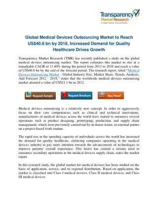 Driven by Rising Healthcare Costs, North America Emerges Leader in Medical Devices Outsourcing Market