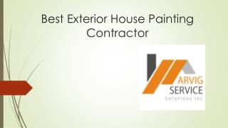 Best Exterior House Painting Contractor