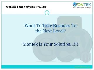 Web Development Company in Pune - Montek Services