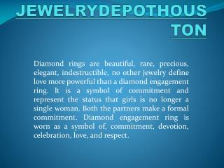 Diamond Rings Houston-  For That Special Occasion