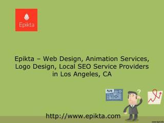 Best Logo Design in Los Angeles, CA | 310-741-2657 | Epikta