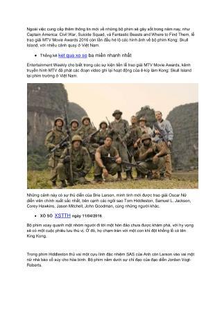 Kong: Skull Island bất ngờ tung video có cảnh quay tại Việt Nam