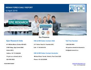 Epic Research Daily Forex Report 12 April 2016