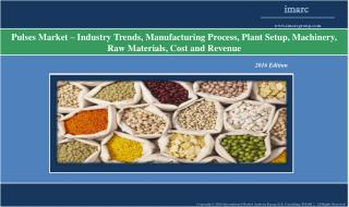 Pulses Market - Industry Trends, Plant Setup and Manufacturing Requirements