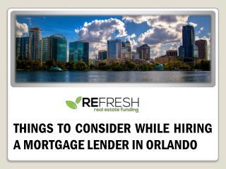 Get best Mortgage Lenders in Orlando, FL