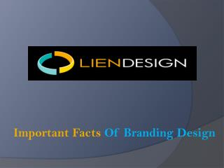 Important Facts Of Branding Design