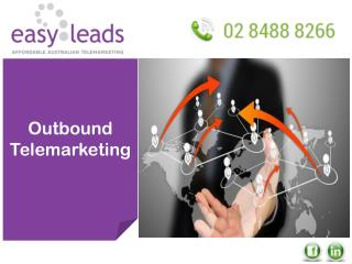 OUTBOUND TELEMARKETING SERVICE IN AUSTRALIA