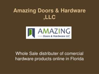 Commercial Door Locks From Amazing Door In Florida