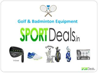 Golf Equipment India | Sport Deals