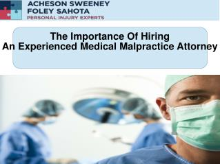 Medical Malpractice Victoria BC