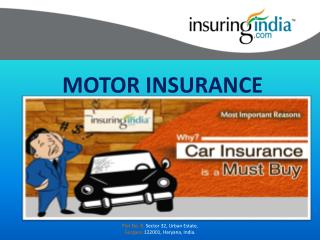 Why Motor Insurance is Important