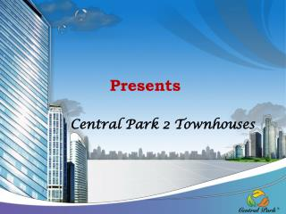 Central Park 2 Townhouses
