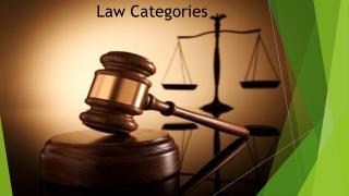 Law Categories in USA - Adam Michael Sacks