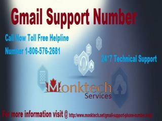 Instant Gmail Tech Support Call @ 1-806-576-2681 Toll Free