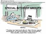 SPECIAL INTEREST GROUPS