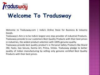 Buy Industrial Tools online on tradusway.com