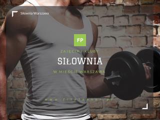 Silownia Warszawa - FitPlanner.pl