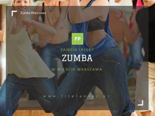 Zumba Warszawa - FitPlanner.pl
