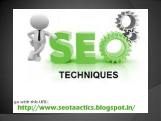 Search For Best Seo Techniques For Get High Rank Of Website