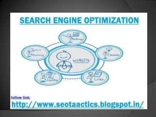 Get All Search Engine Optimization Tools & Techniques At One Place