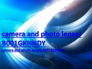 camera and photo lenses B001GKNNDY
