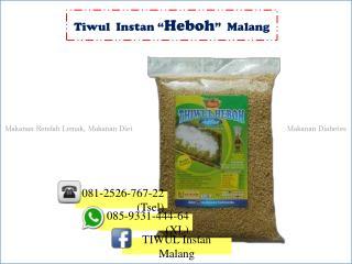 Tiwul Instan Murah, Tiwul Instan di Malang, Harga Tiwul Instan085-9331-444-64 (XL)
