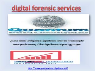 forensic computer services