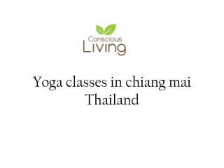 Yoga classes in chiang mai Thailand