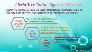 iTechi Free Online Sync Subtitle Tool
