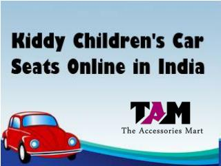 Kiddy Children's Car Seats Online in India