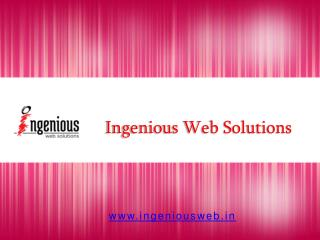 Ingenious Web Solutions