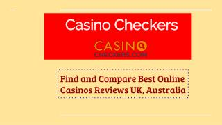 Best online casinos - CasinoCheckers.com
