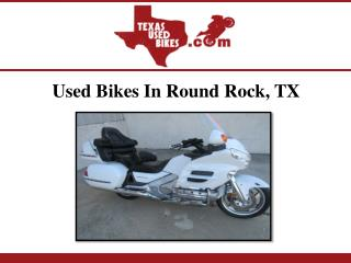Used Bikes In Round Rock, TX