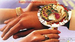 Rakhi celebration in Vrindavan